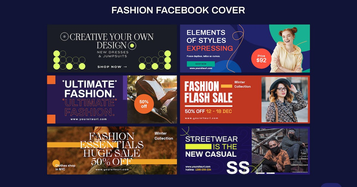 Download Fashion Facebook Cover by iDoodle