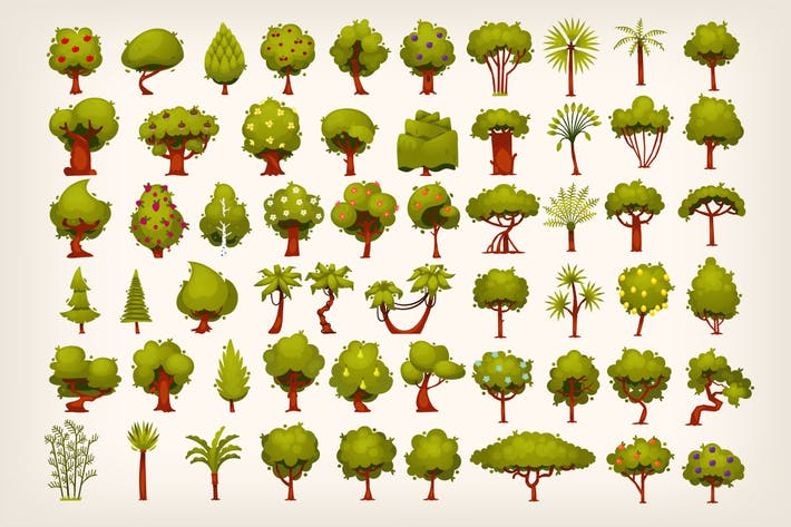 Thumbnail for Collection of trees
