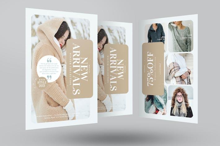 Thumbnail for Winter Fashion Sale Flyer