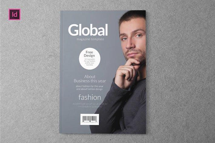 Thumbnail for GLOBAL - Magazine Template