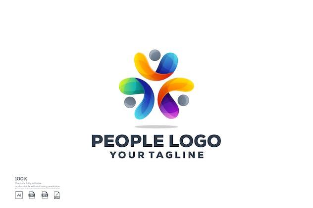 People logo design
