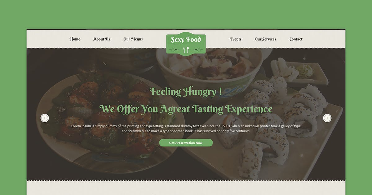 Download Sexy Food - Food & Restaurant PSD Template by 7oroof