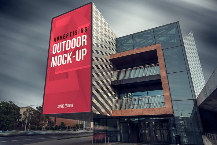 Thumbnail for Animated Outdoor Advertising Mockups