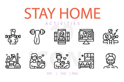 Stay home activities