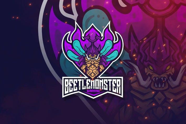 Thumbnail for Beetle Monster Logo Template