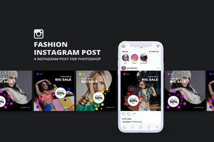 Мода Инстаграм Пост