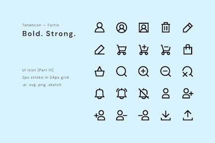 Conjunto de iconos de interfaz de usuario