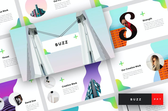 Thumbnail for Buzz - Creative PowerPoint Template