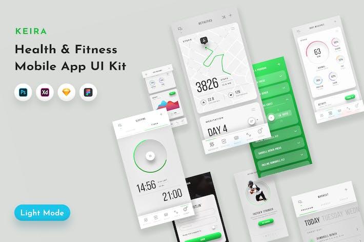 Thumbnail for Keira Fitness UI Kit
