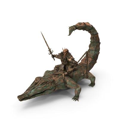 Scorpigator Rider Old Bronze
