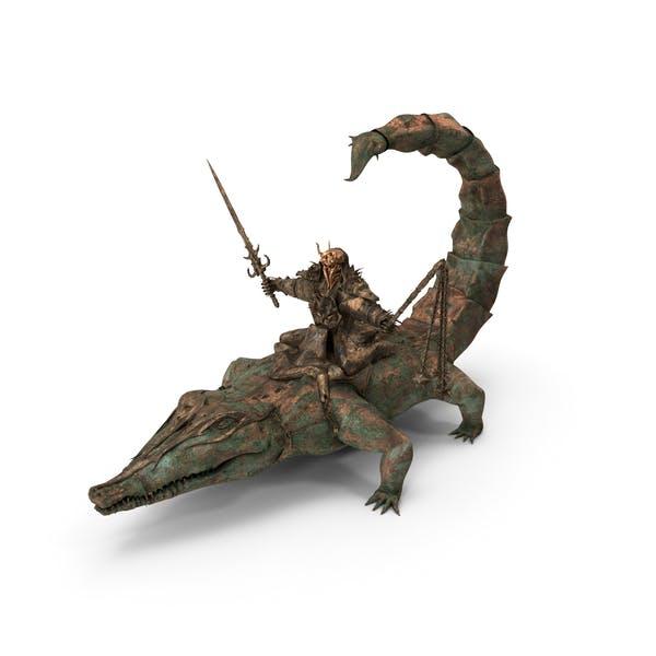 Thumbnail for Scorpigator Rider Old Bronze