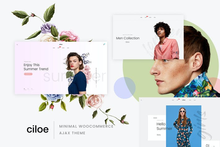 Cover Image For Ciloe - Multipurpose WooCommerce Theme