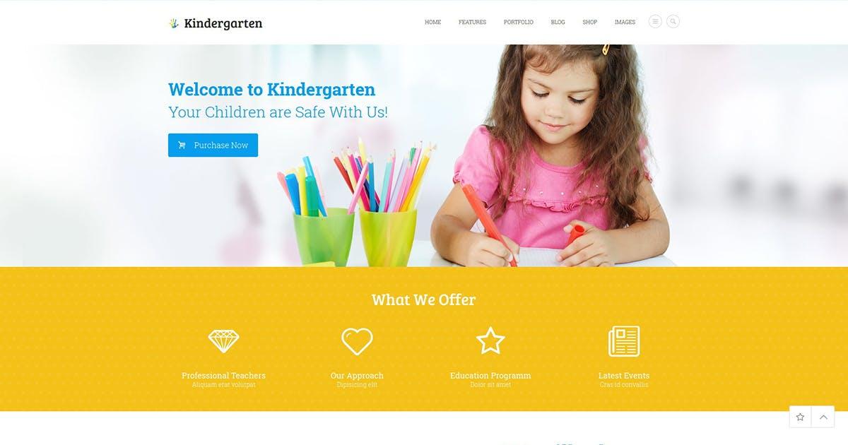 Download Kindergarten by ThemeREX