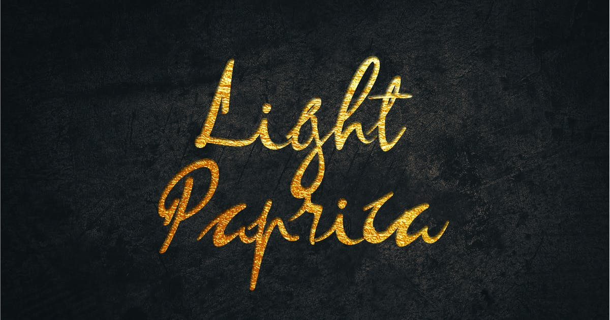 Download Light Paprica Calligraphy by uicreativenet