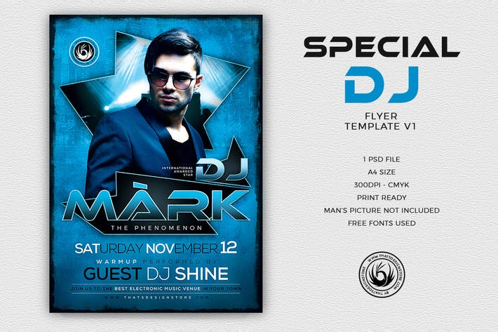 Thumbnail for Special Dj Flyer Template V1