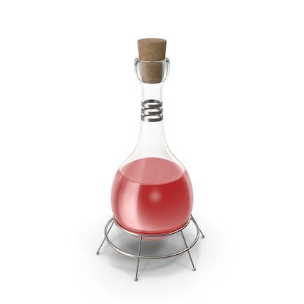 Frasco Alquímico Rojo