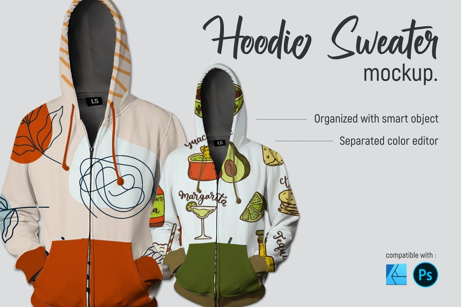 Hoodie Sweater | Mockup