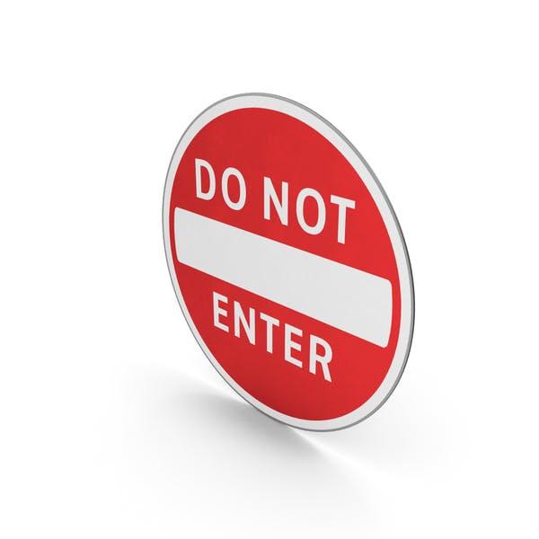 Verkehrszeichen nicht betreten