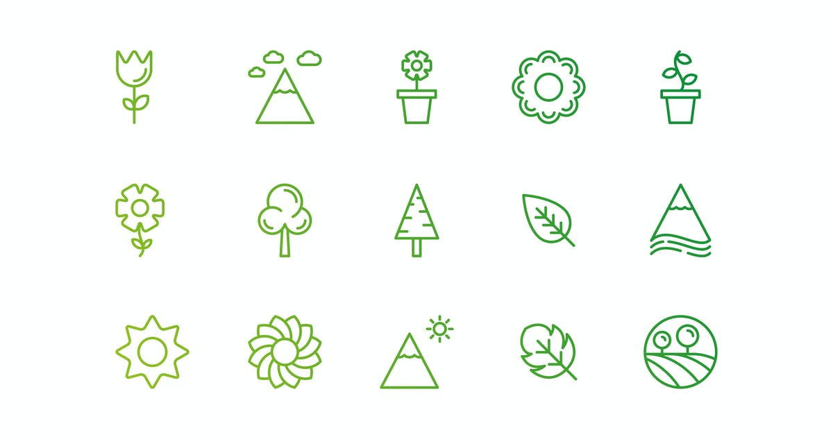 Download Nature and eco Icons by 3ab2ou