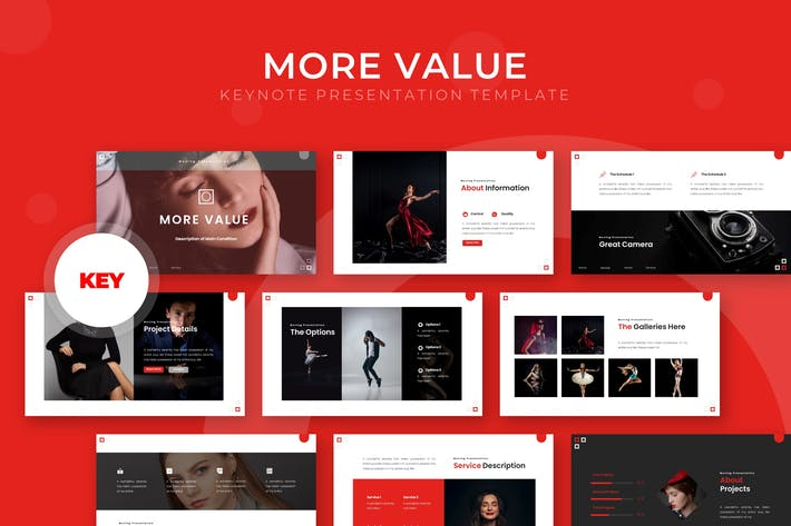 Cover Image For More Value - Keynote Template