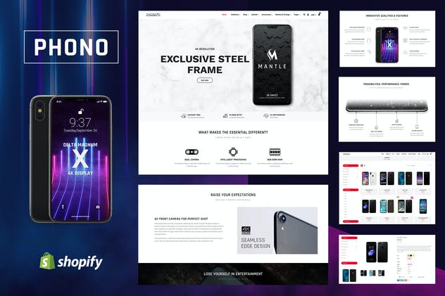 Phono   Phone Accessories Shopify Theme