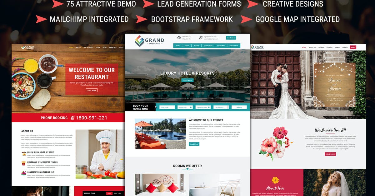 Download Grand - Lead Generating HTML Landing Pages by pennyblack