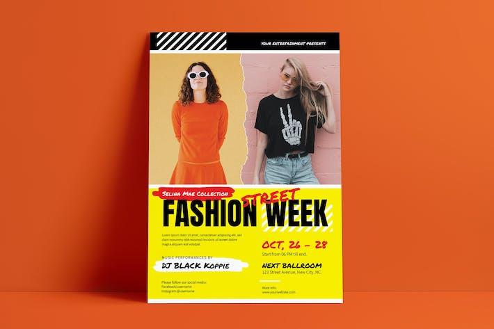 Thumbnail for Fashion Street Week Template