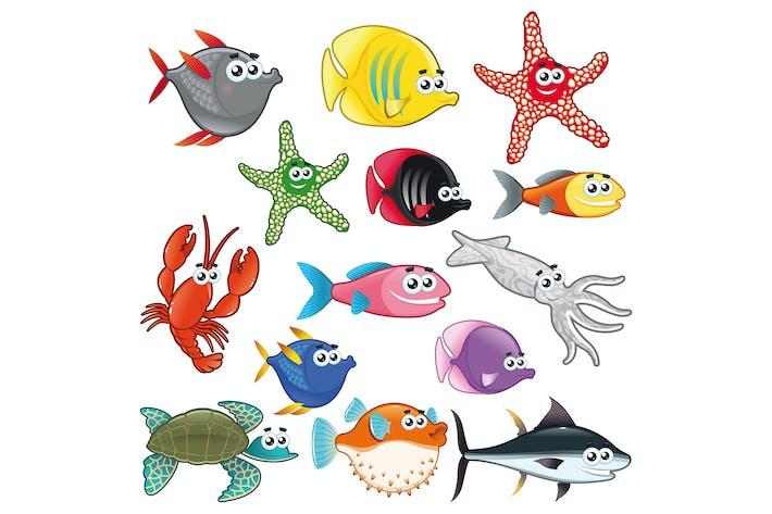 Thumbnail for Familie der lustigen Fische