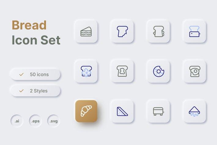 Thumbnail for Bread Icon