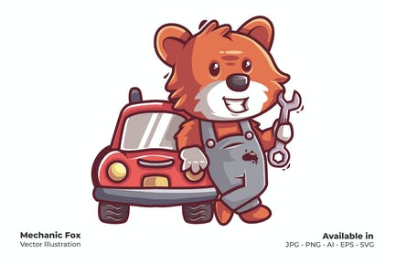 Mechaniker Fox