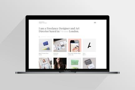 Jane | Responsive HTML5 Portfolio Template