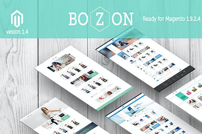 Thumbnail for Bozon - Multipurpose Responsive Magento Theme