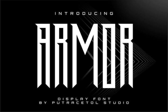 Thumbnail for Armor - Potente fuente de pantalla condensada