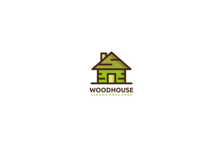 Cover Image For Wood House Logo