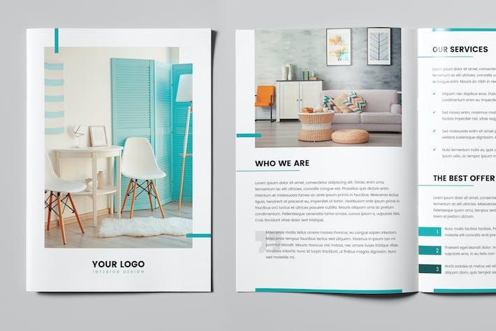 Thumbnail for Mini Brochure – Interior Design A5