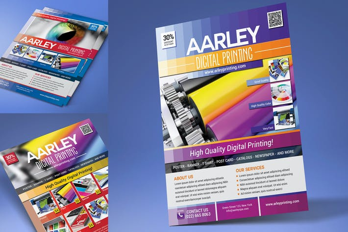 Digital Printing Flyer