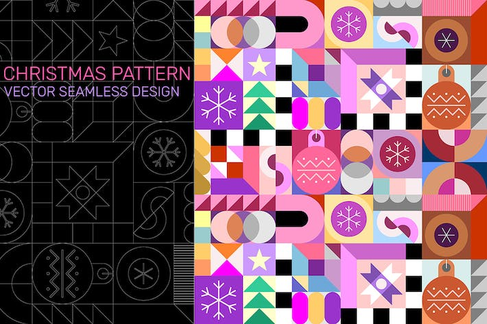 Thumbnail for Christmas Pattern vector seamless design