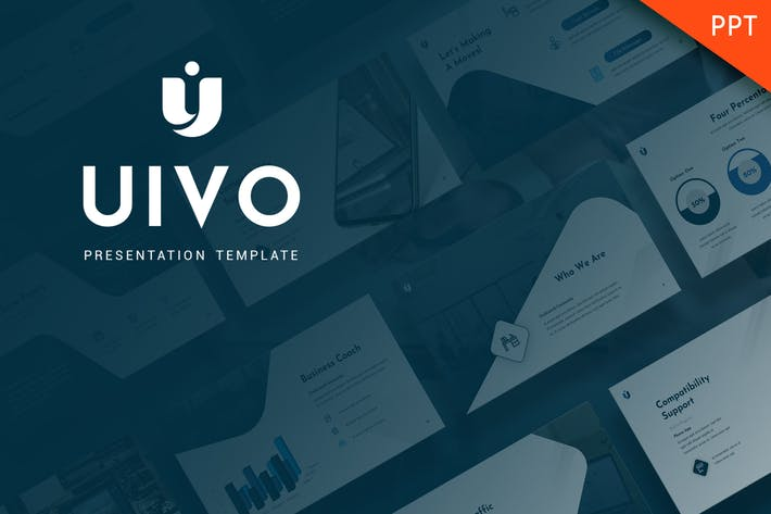 Thumbnail for Uivo - Working Powerpoint Template