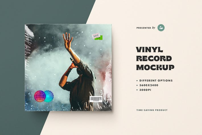 Thumbnail for Vinyl Record Mockup