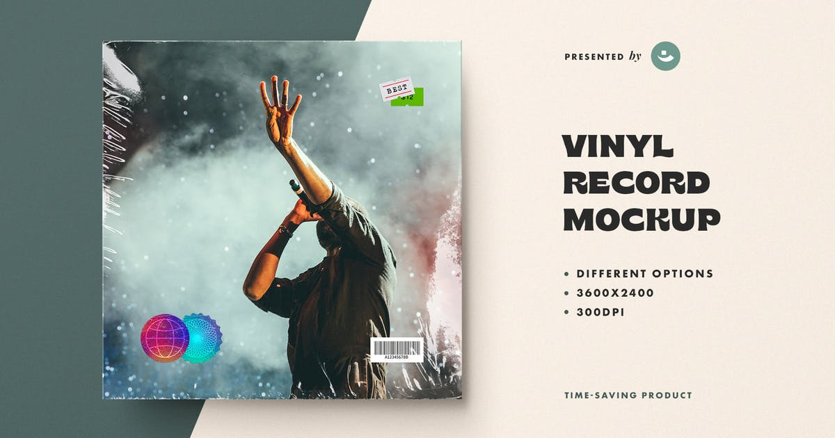 Download Vinyl Record Mockup by pixelbuddha_graphic