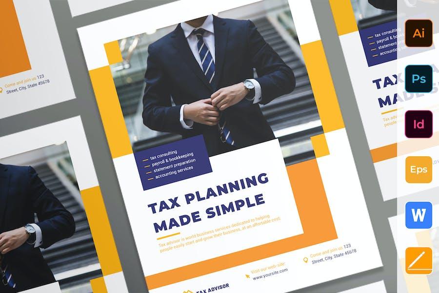 Tax Advisor Poster