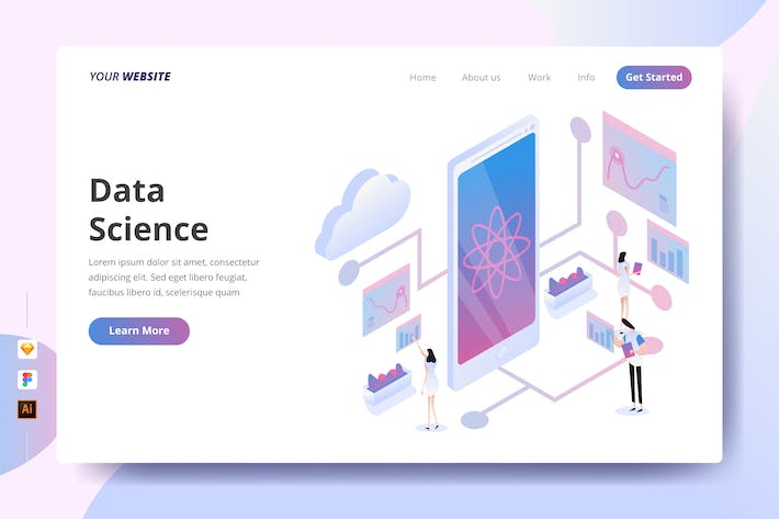 Thumbnail for Data Science - Landing Page