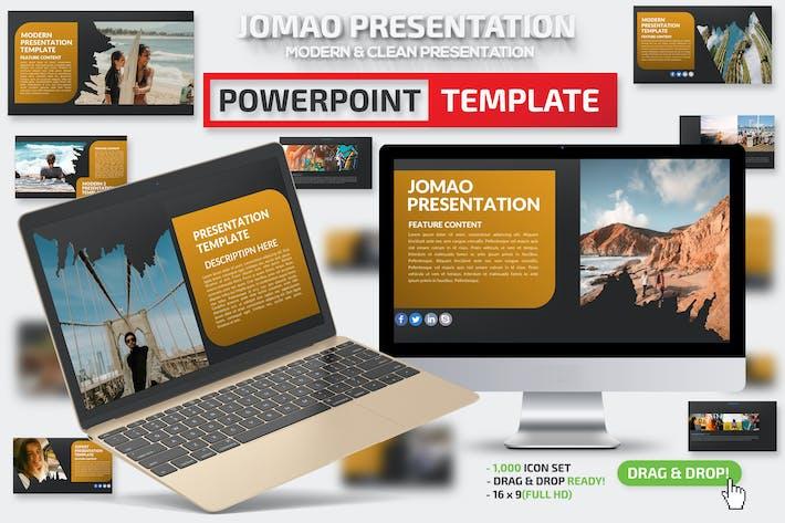 Презентация Powerpoint Джомао