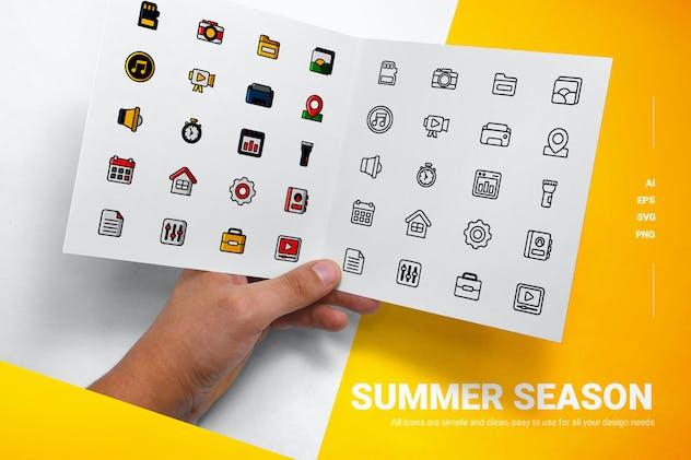 Summer Season - Icons