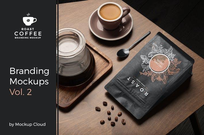 Thumbnail for Roast – Coffee Branding Mockup Vol. 2