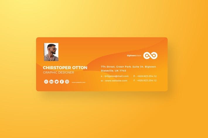 Thumbnail for Cd Orange Email Signnature