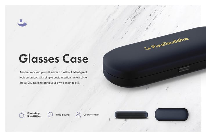 Thumbnail for Glasses Case Mockup Set