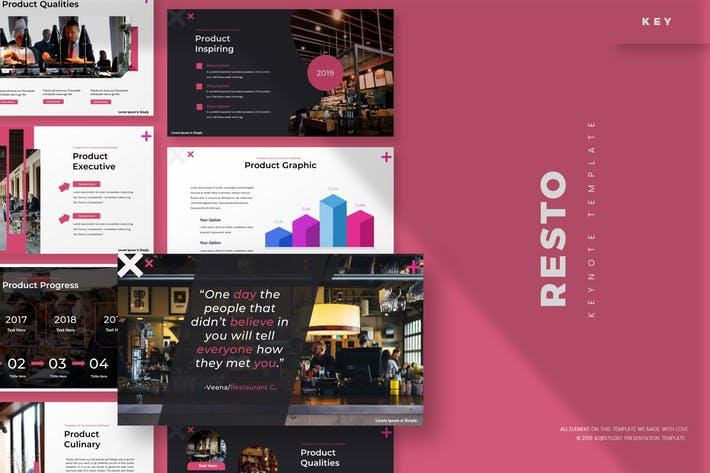 Thumbnail for Resto - Keynote Template