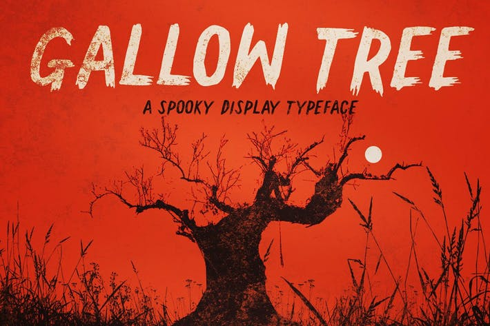 Thumbnail for Gallow Tree font