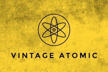 Vintage Atomic Texture Brushes